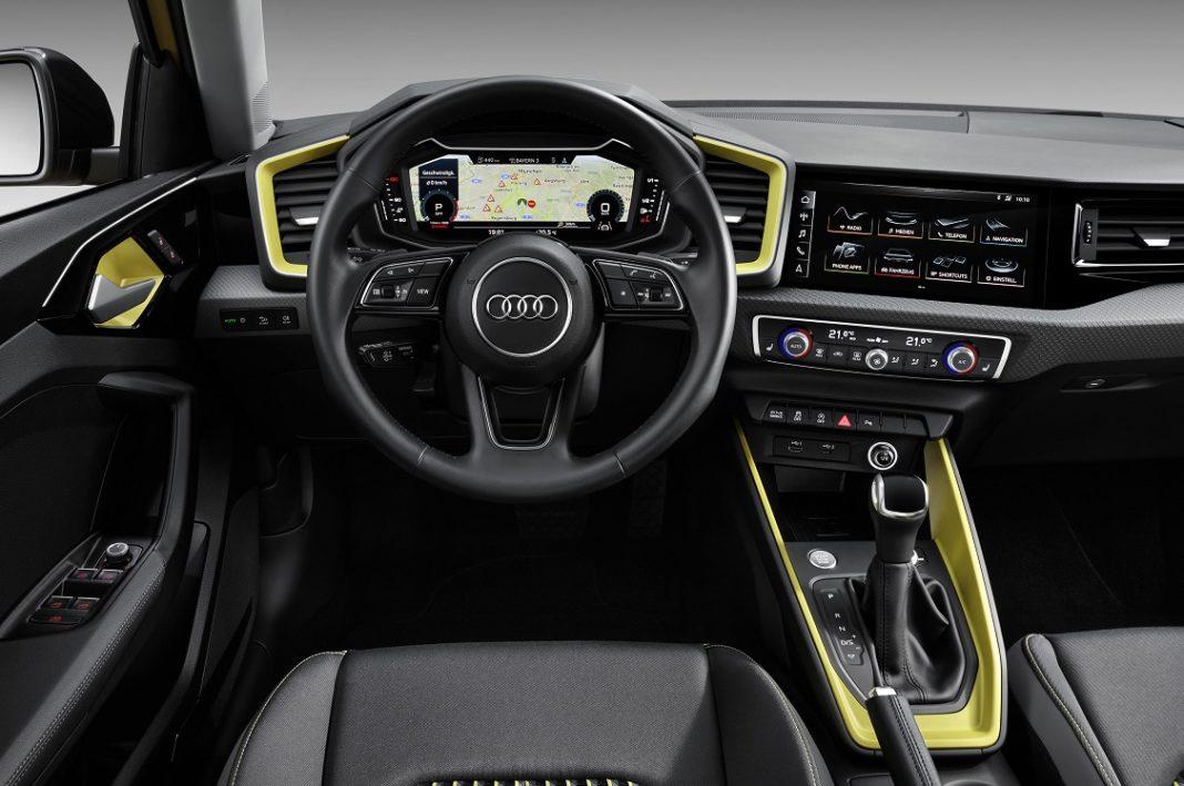 Imagen interior del Audi A1 Sportback