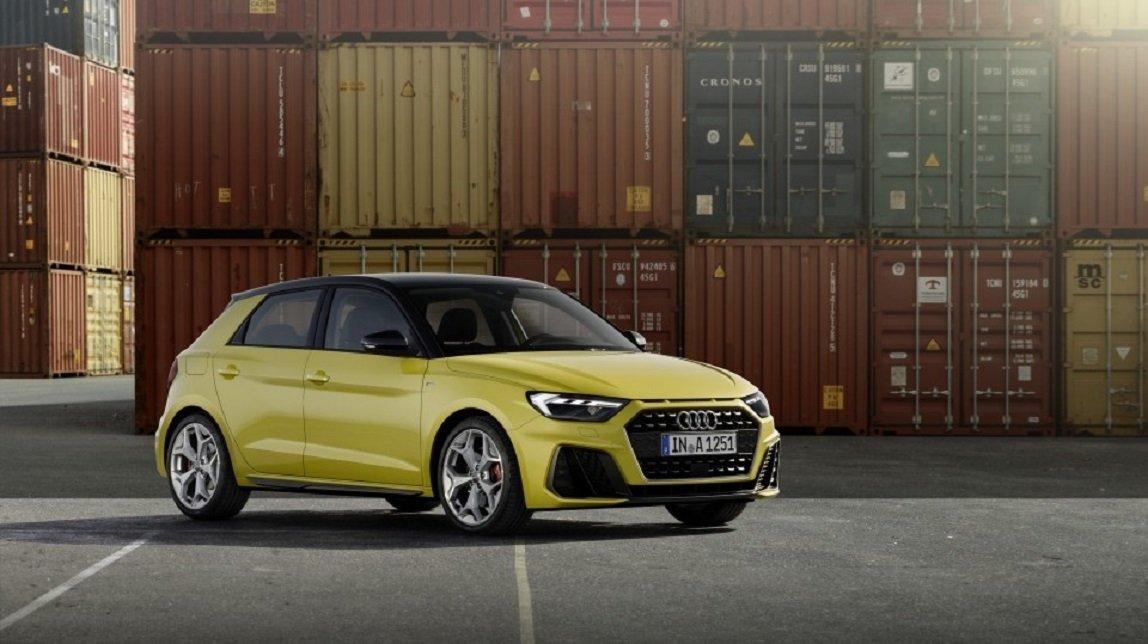 Audi A1 Sportback amarillo pack S Line