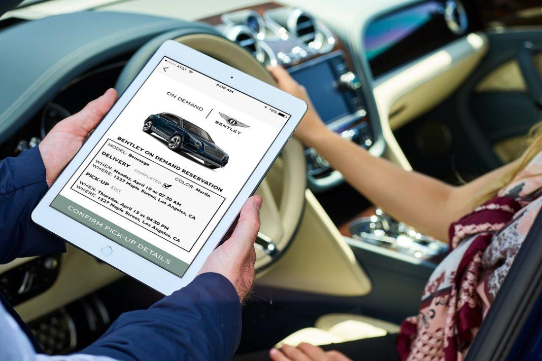Tablet y coche