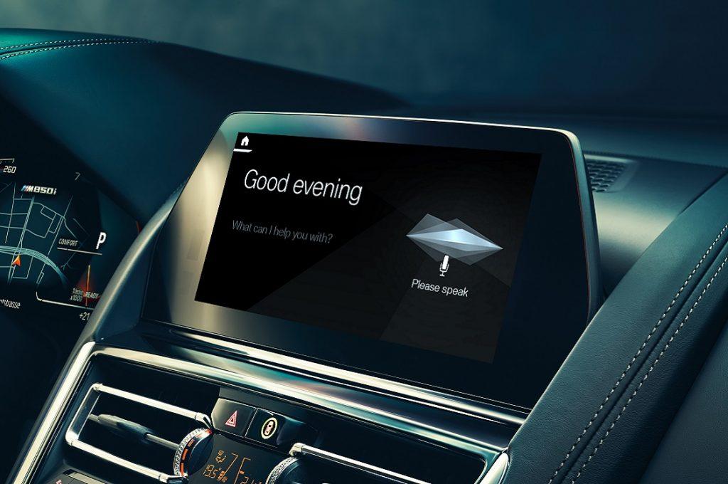 Imagen de muestra del asistente IPA de BMW