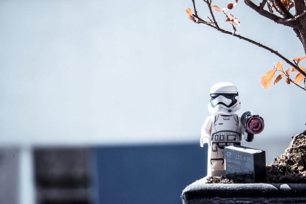 Juguete Star Wars en miniatura