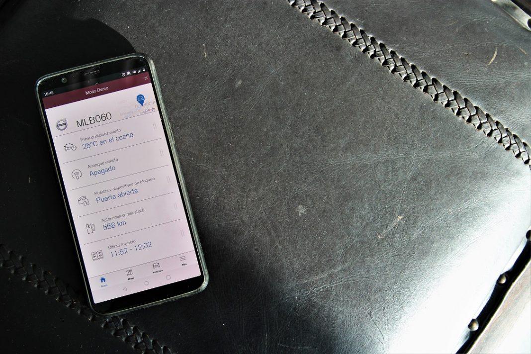 Imagen de la App Volvo On Call