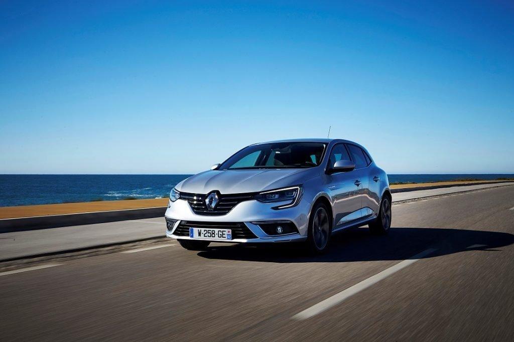 Imagen del Renault Mégane tres cuartos trasero