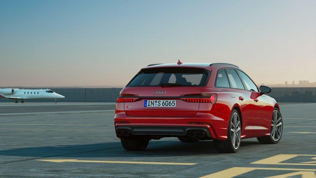 Imagen de un Audi S6 Avant TDI en color rojo