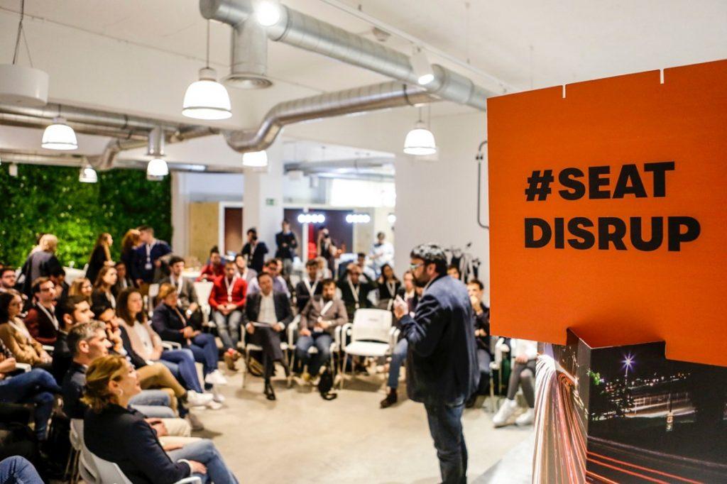 Imagen de la edición 2018 de Seat DisrUP