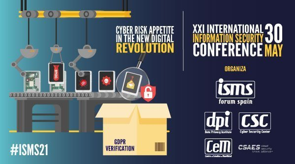 Cartel de la Jornada de ISMS Forum