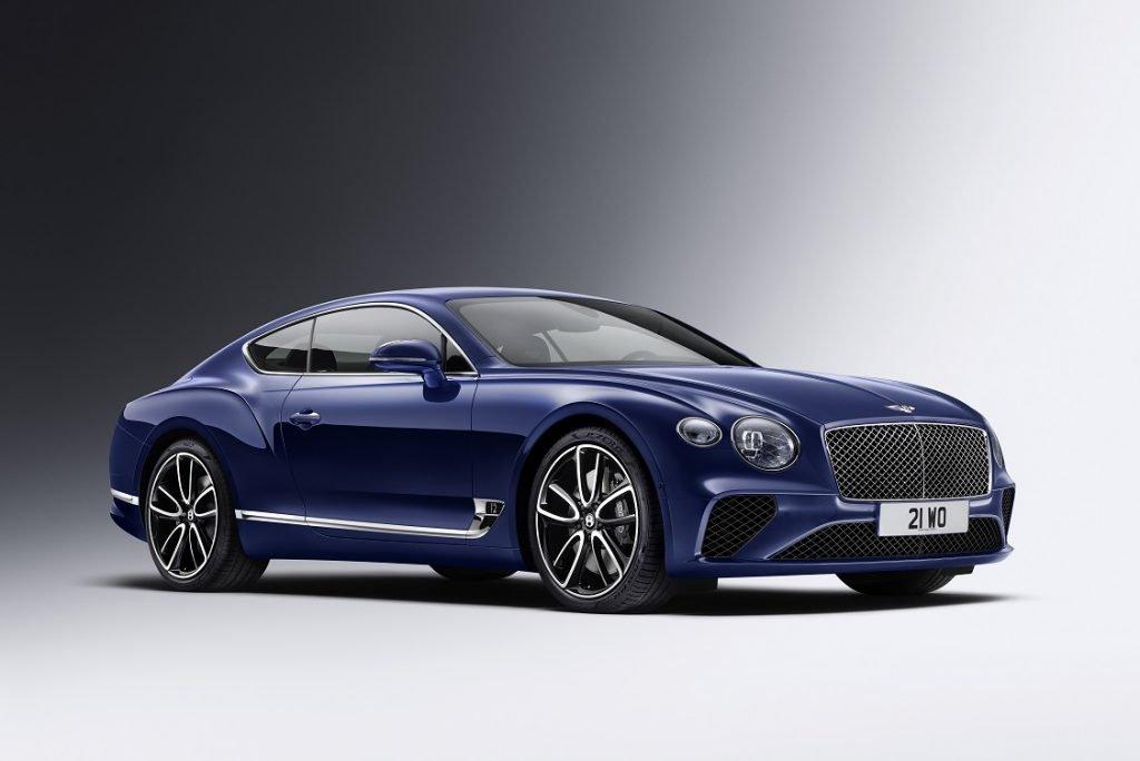 Imagen de un Bentley Continental GT