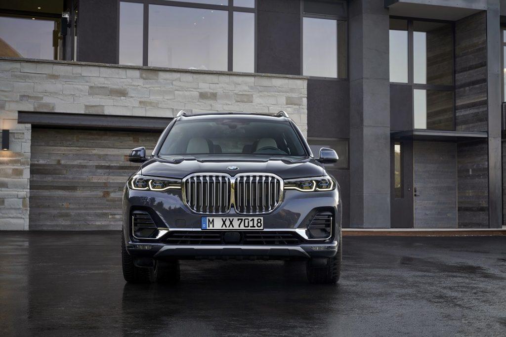 IMagen frontal del nuevo BMW Serie 7