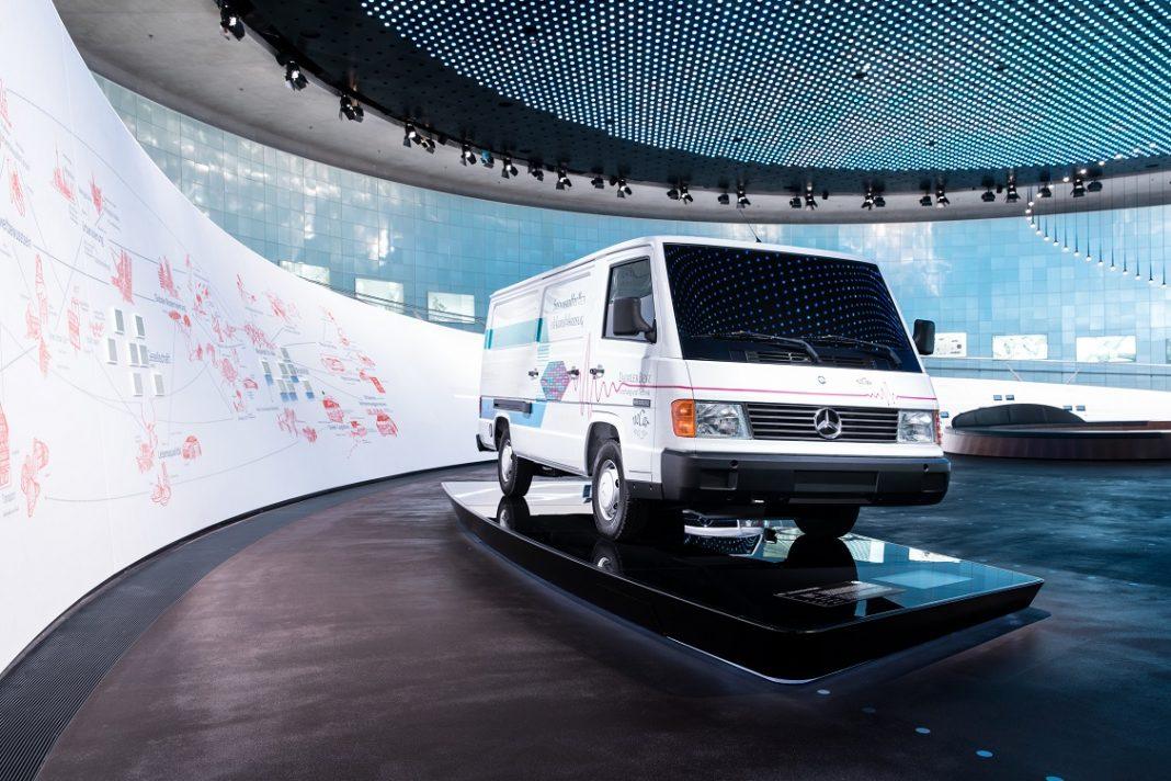 Imagen del Mercedes NECAR 1
