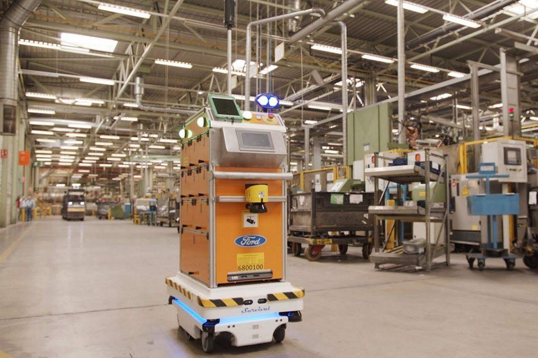 Imagen de Survival, el robot de Ford