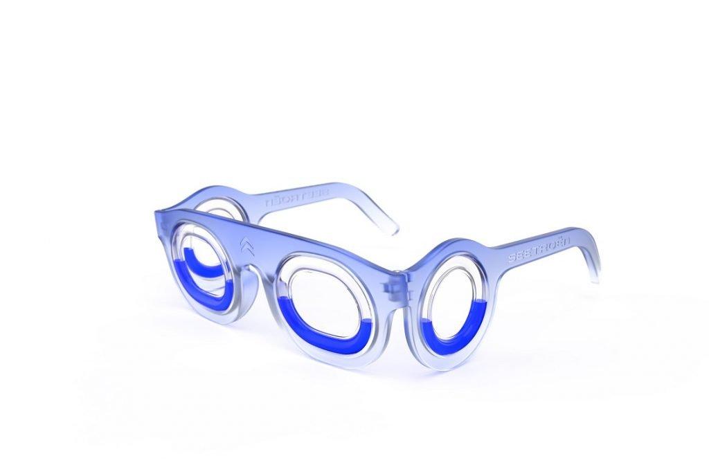 Imagen de las nuevas gafas anti-mareo desarrolladas por Citroën