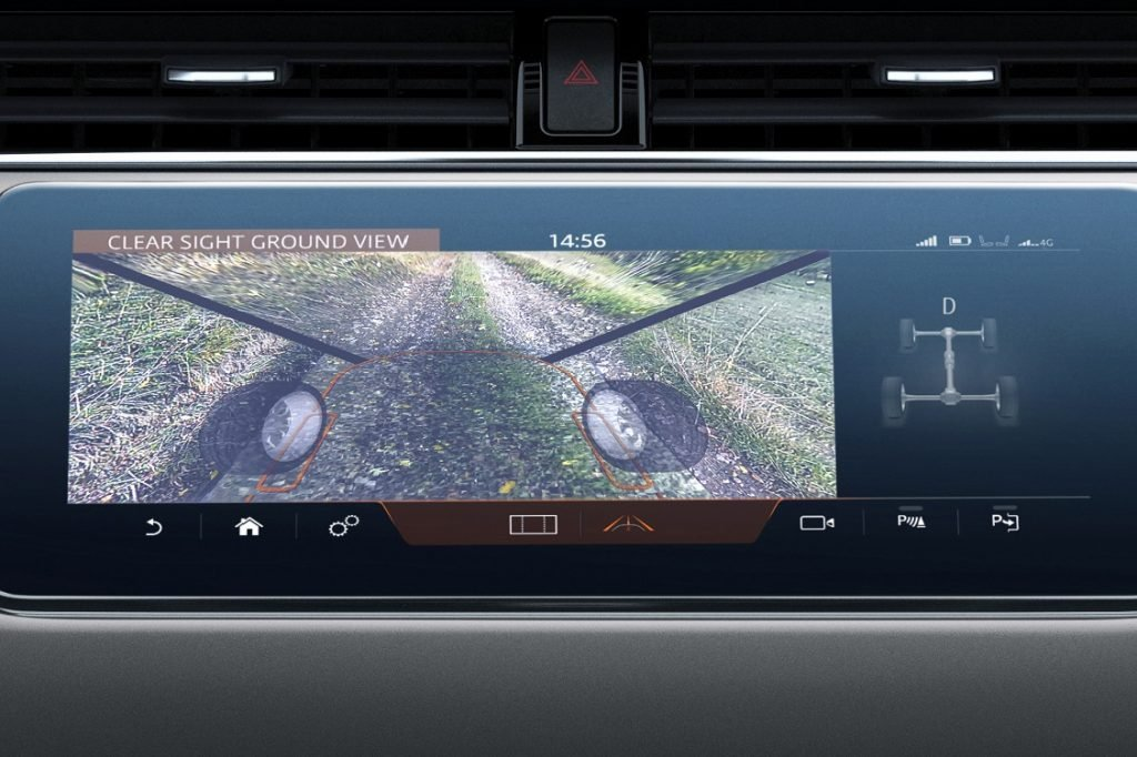 Imagen del Land Rover Clear Sight Ground