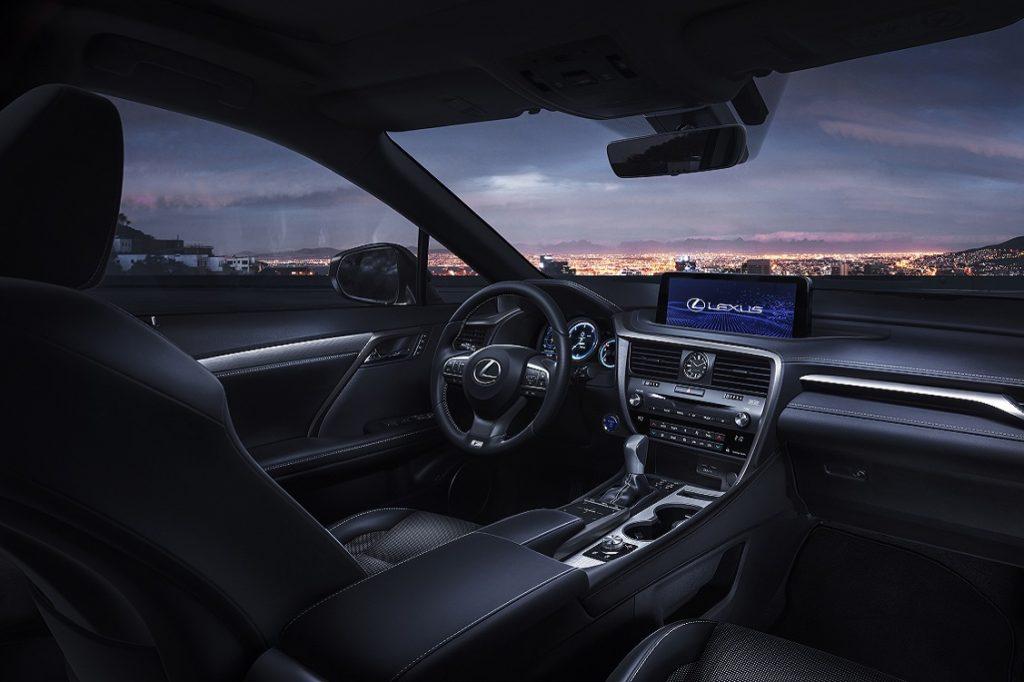Imagen interior del nuevo Lexus RX