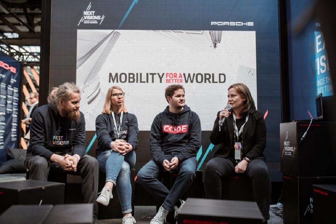 Imagen de la presentación del Porsche Mobility for a Better World