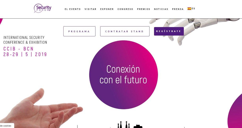 Cartel promocional del Security Forum
