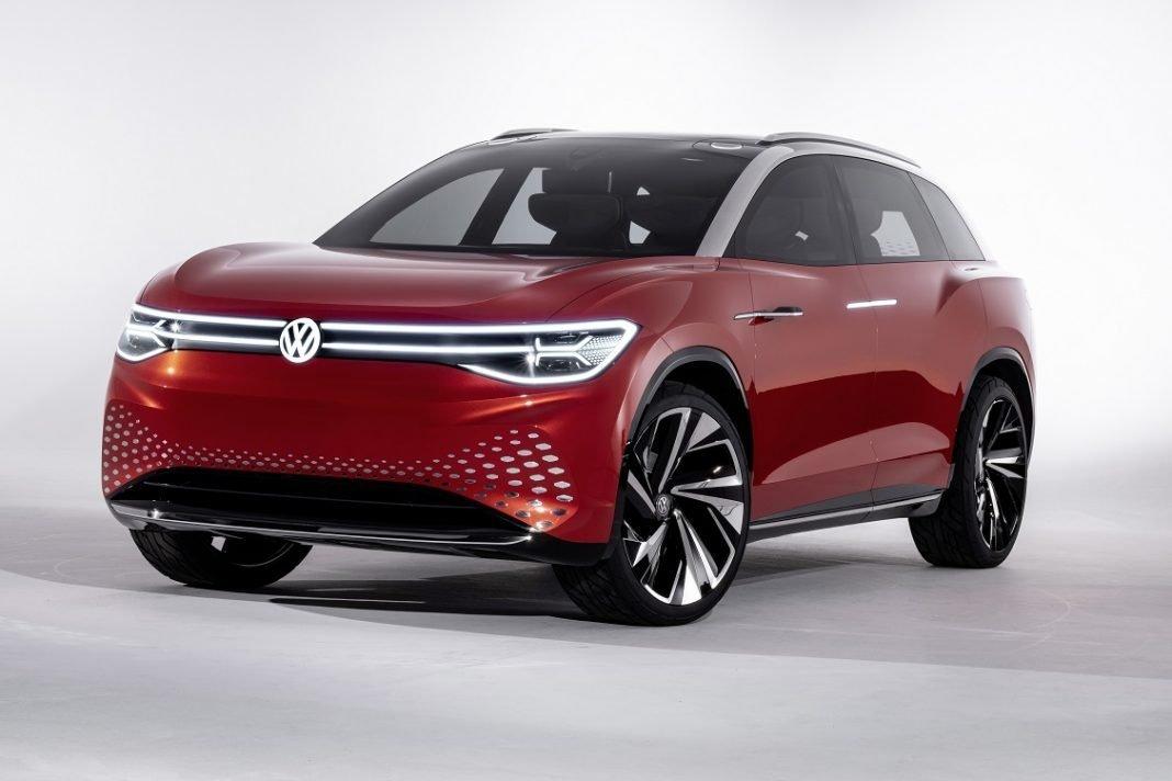 Imagen tres cuartos frontal del concept Volkswagen ID. ROOMZZ