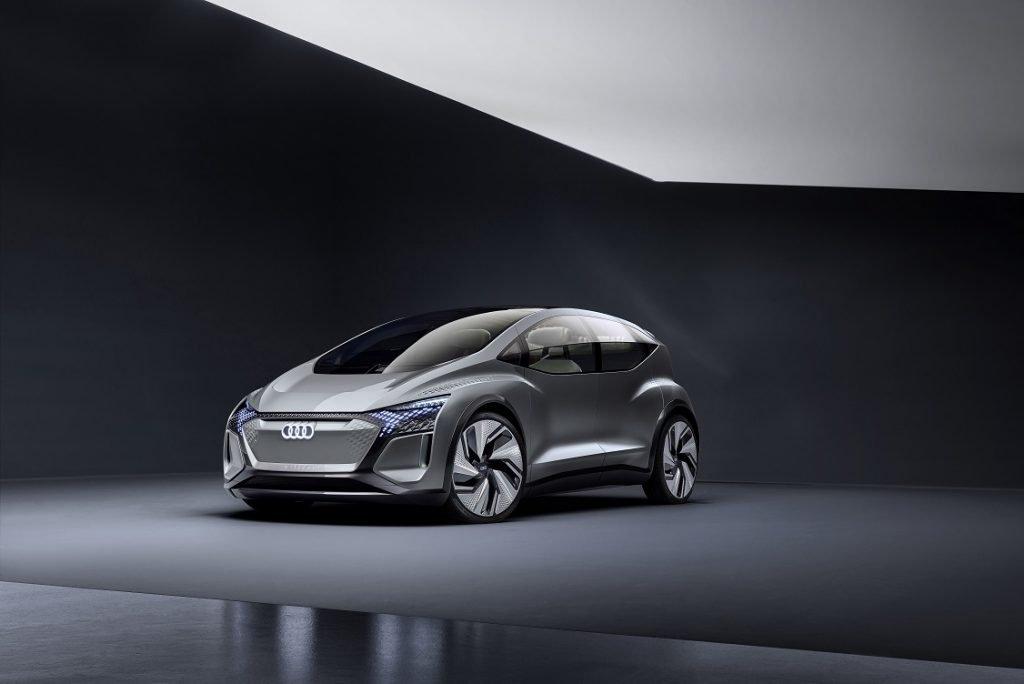 Imagen tres cuartos delanteros del Audi AI:ME