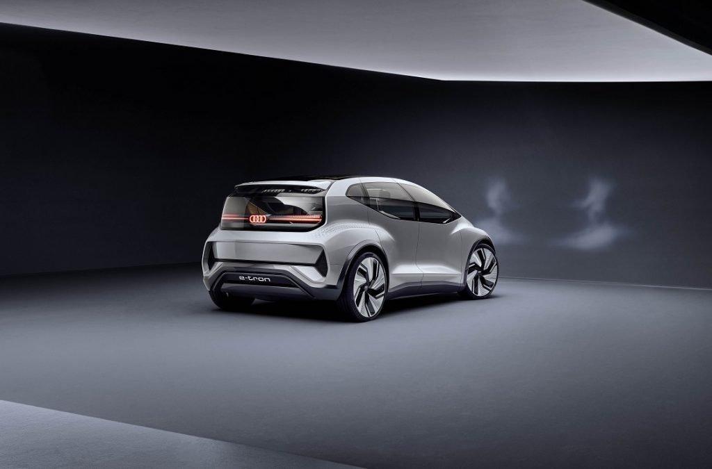 Imagen de la parte trasera del Audi AI:ME