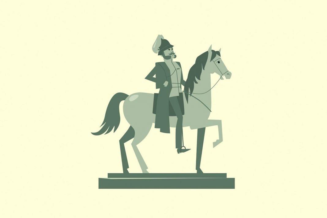 Ilustración del emperador Guillermo II de Austria