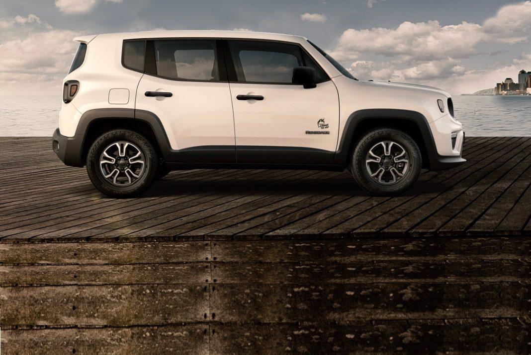 Imagen de perfil de un Jeep Renegade serie especial Change the Way