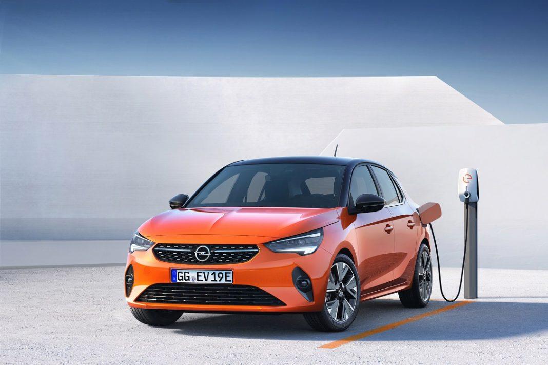 Imagen de un Opel Corsa eléctrico 1