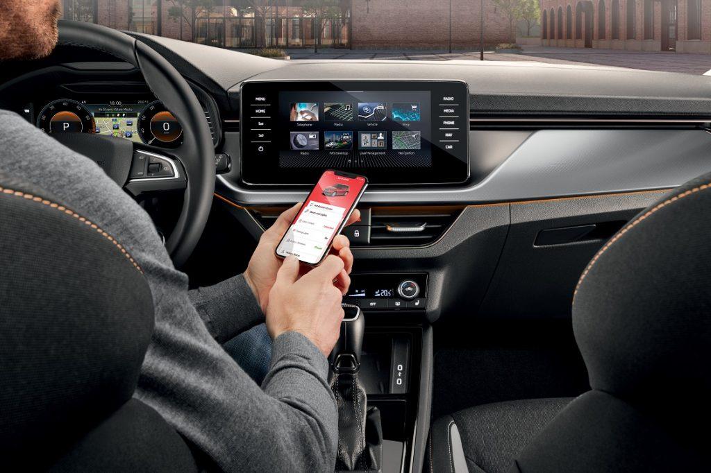 Nueva aplicación Skoda Connect para el móvil