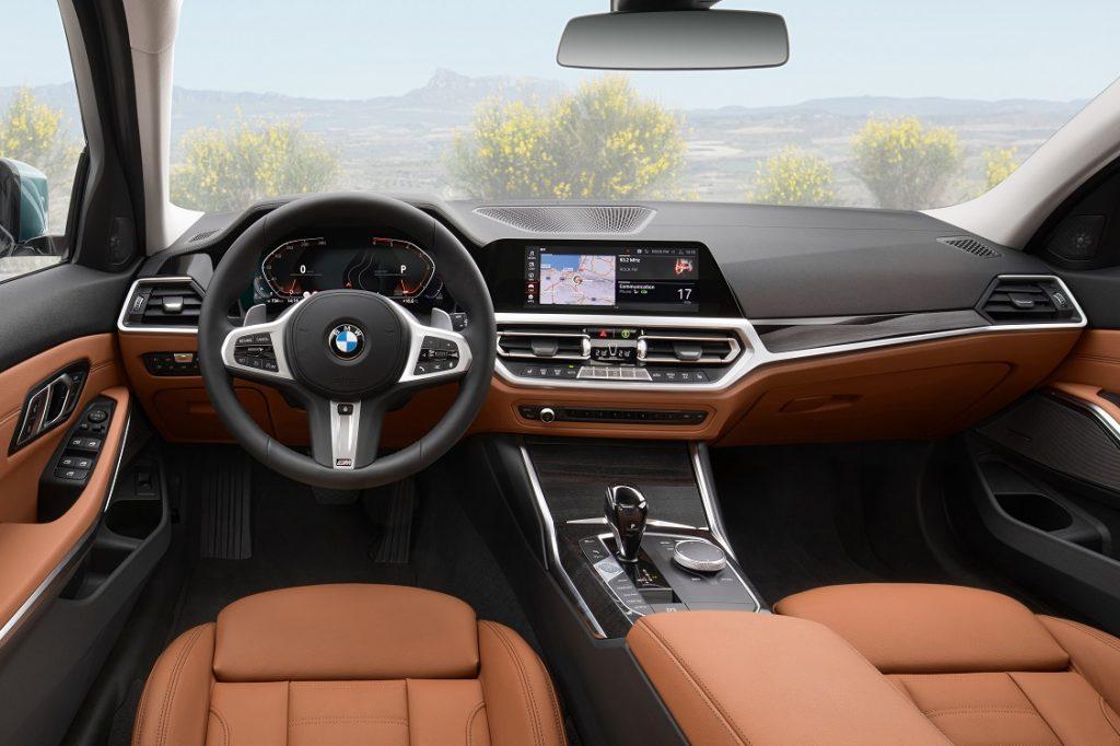 Interior del BMW Serie 3 Touring