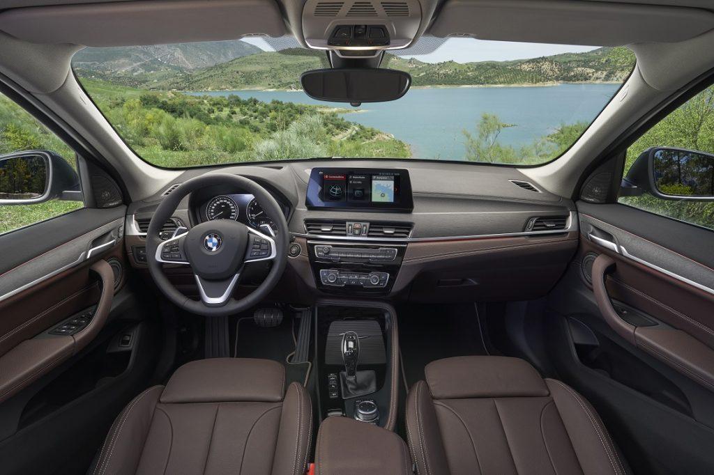 Interior del nuevo BMW X1