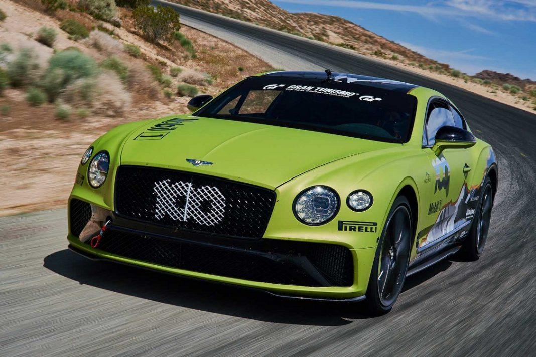 Imagen del Bentley Continental GT para la Pike's Peak