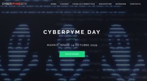 Cartel promocional del CyberPYME Day