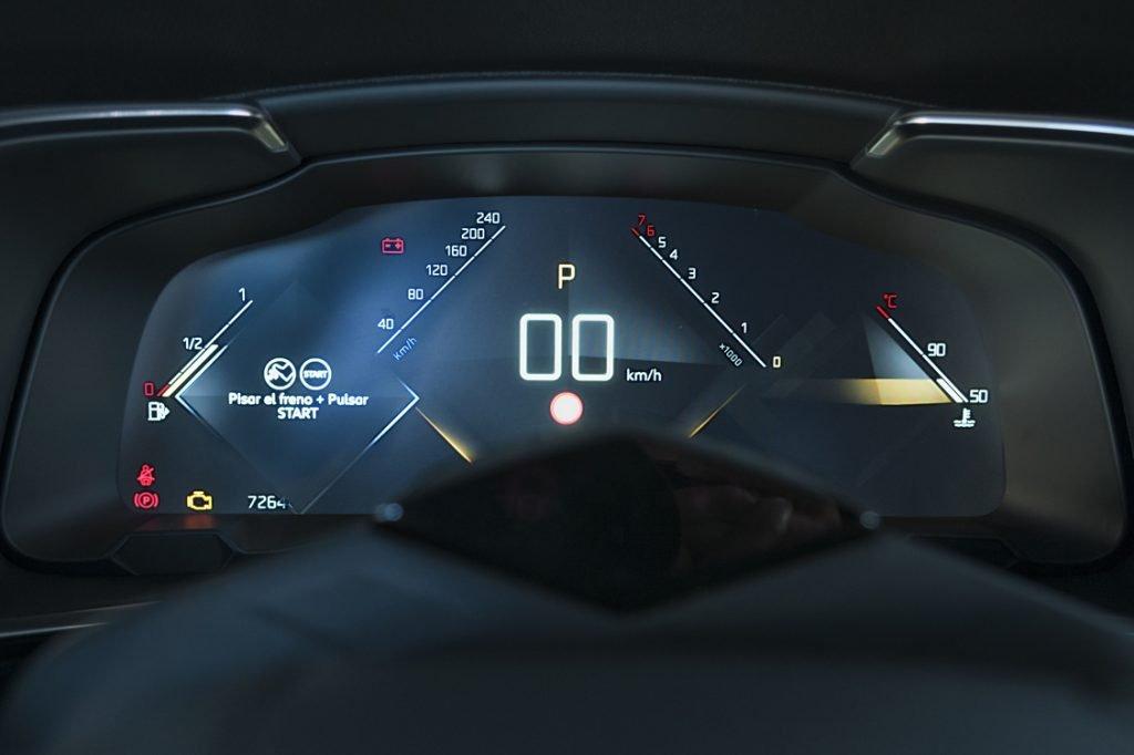 Virtual Cockpit del DS 7 Crossback