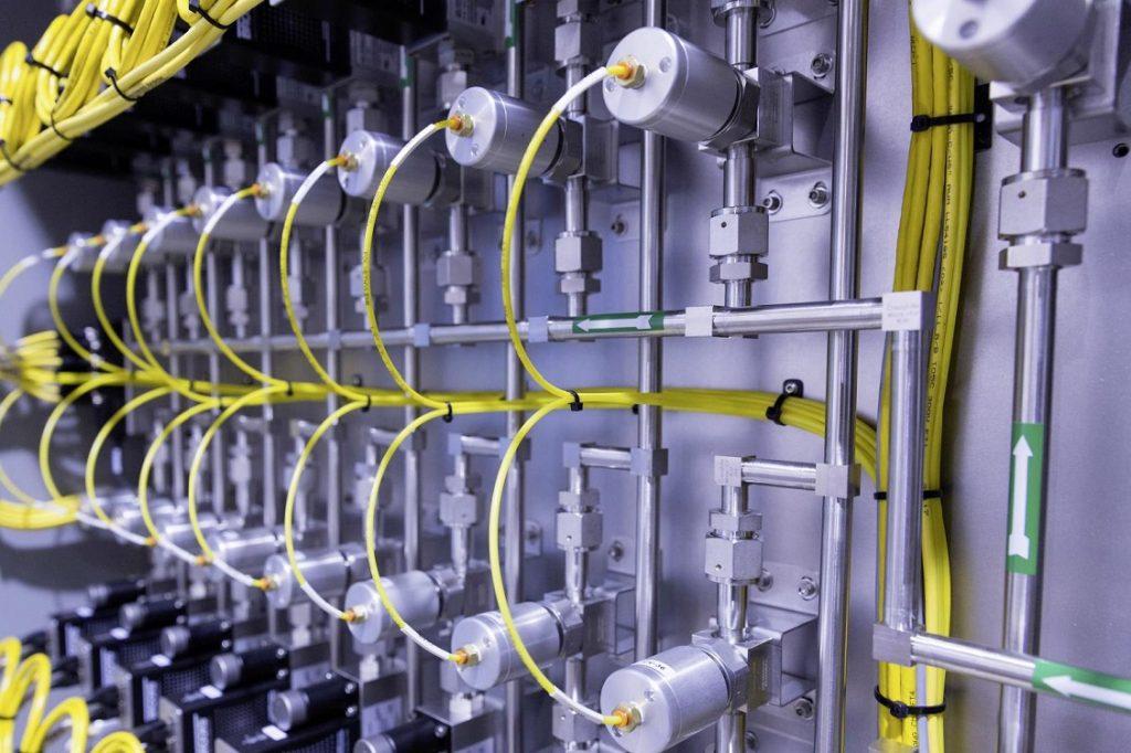 Imagen de las baterías de un vehículo eléctrico
