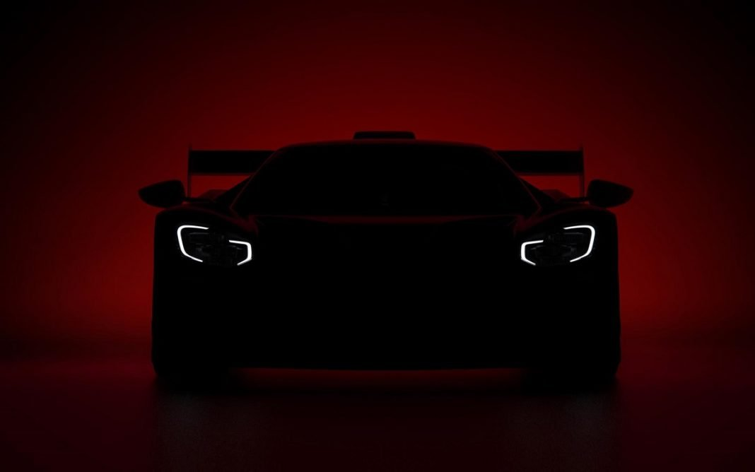 Imagen del posible nuevo Ford GTP