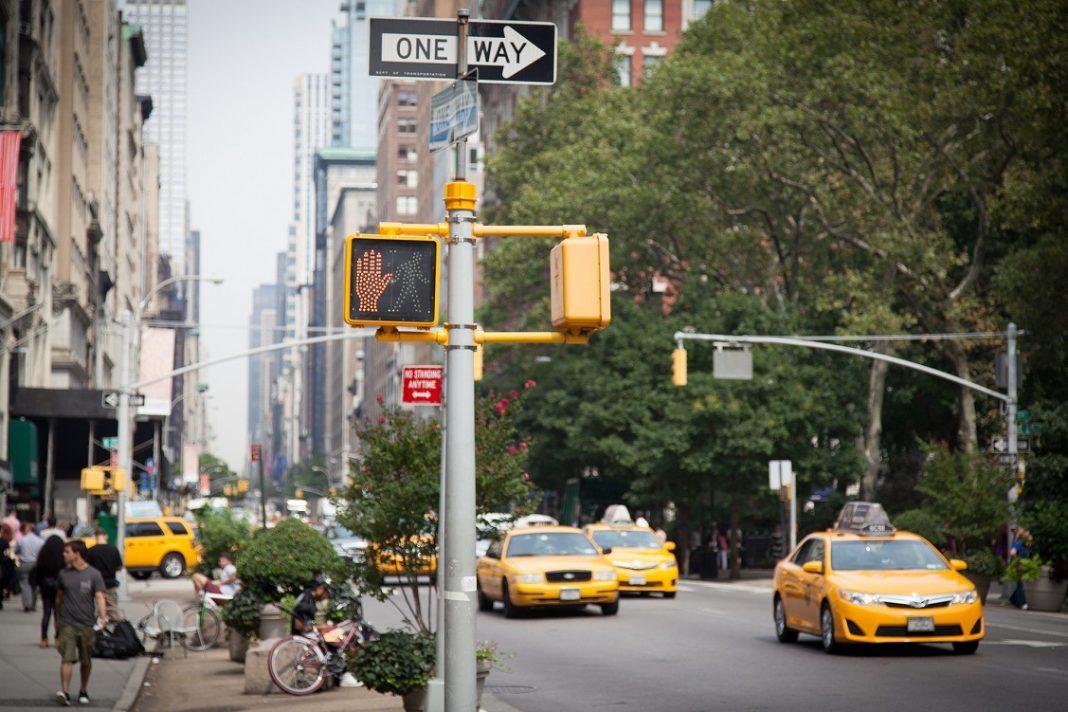 Imagen del tráfico en Nueva York