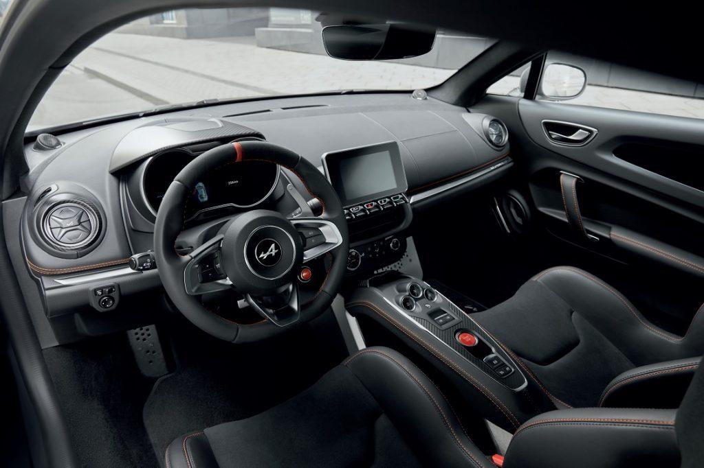 Imagen del interior del nuevo Alpine A110S