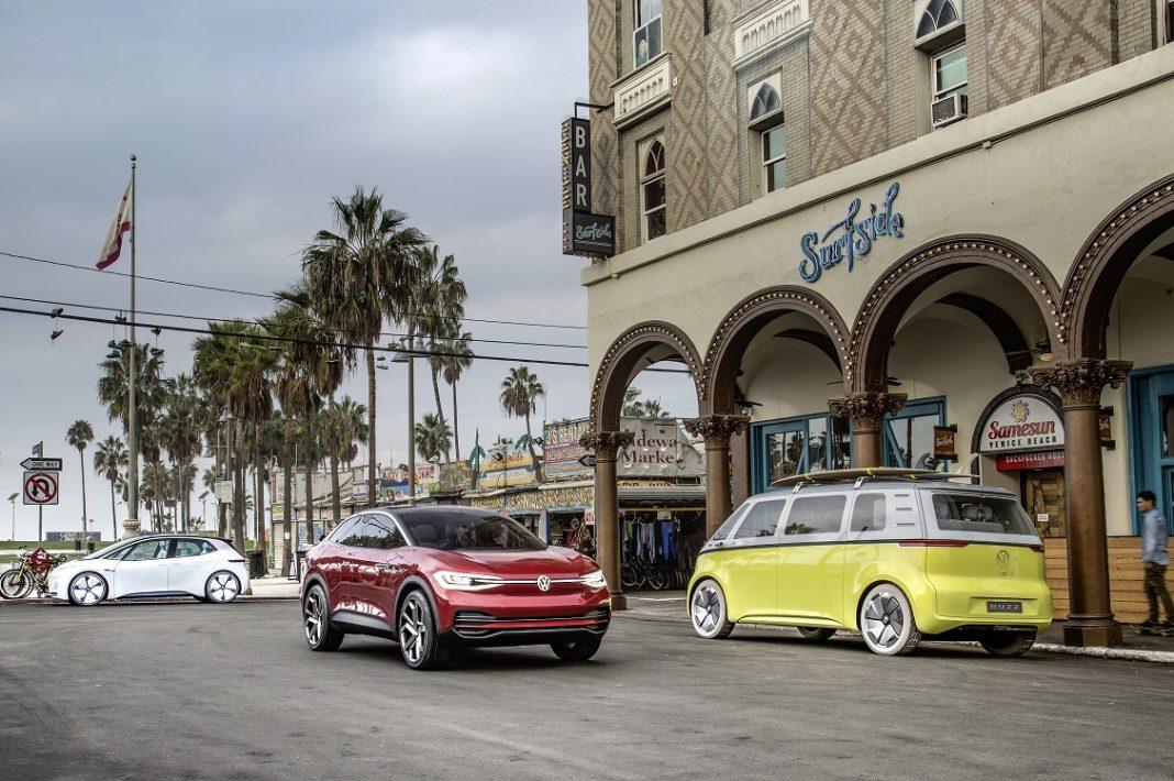 Gama de coches eléctricos de VW