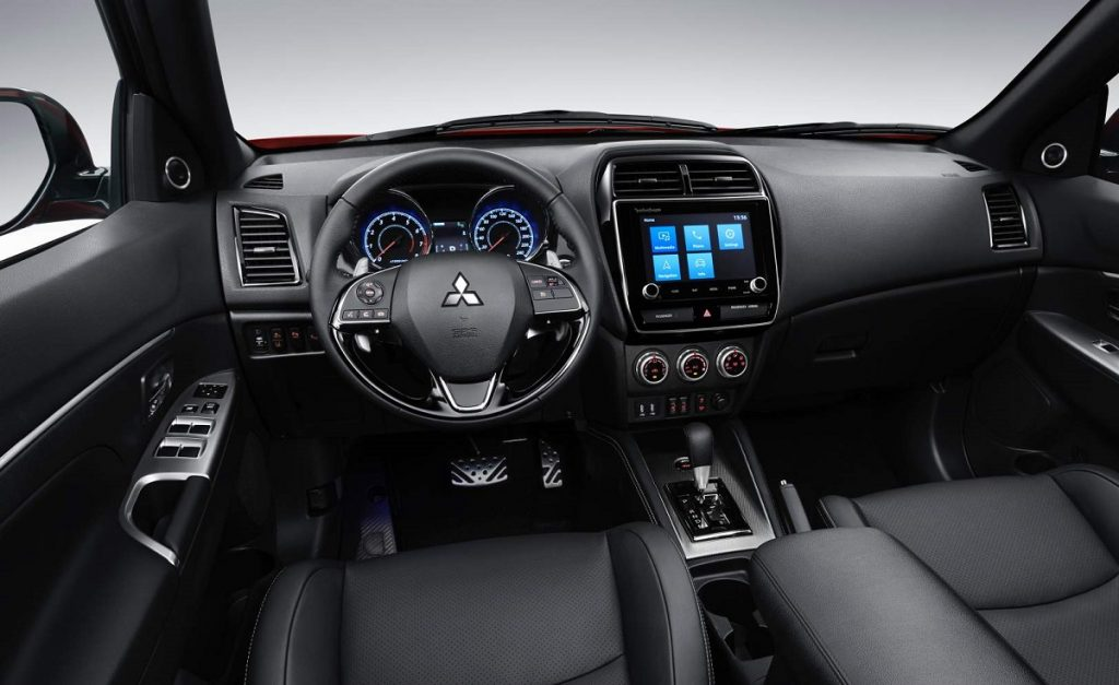 Imagen del interior del Mitsubishi ASX