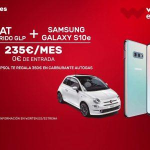 Imagen promocional de la campaña de WOrten con Fiat y Repsol