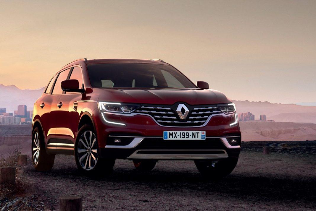Imagen del Renault Koleos 2019 visto de frente