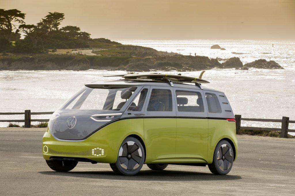 Imagen del concept de Volkswagen: el ID.Buzz