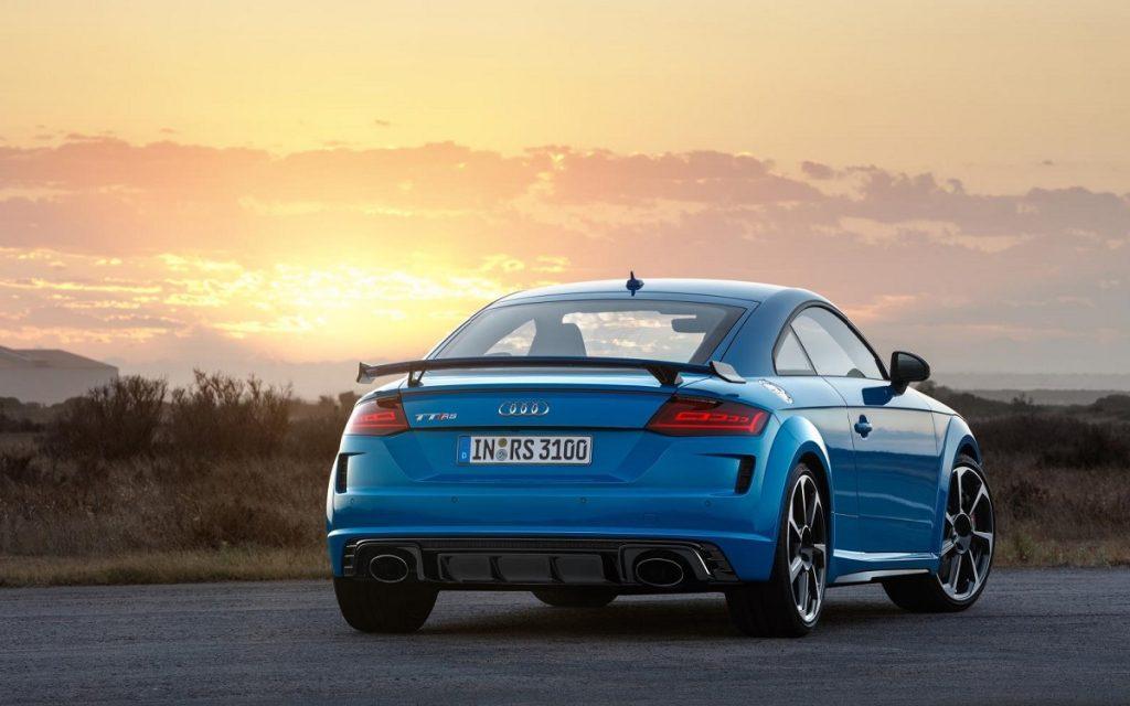 Imagen posterior del Audi TT