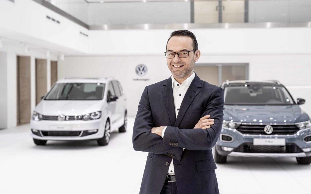Imagen de Christian Senger, responsable de Coche y Servicios Digitales en VW
