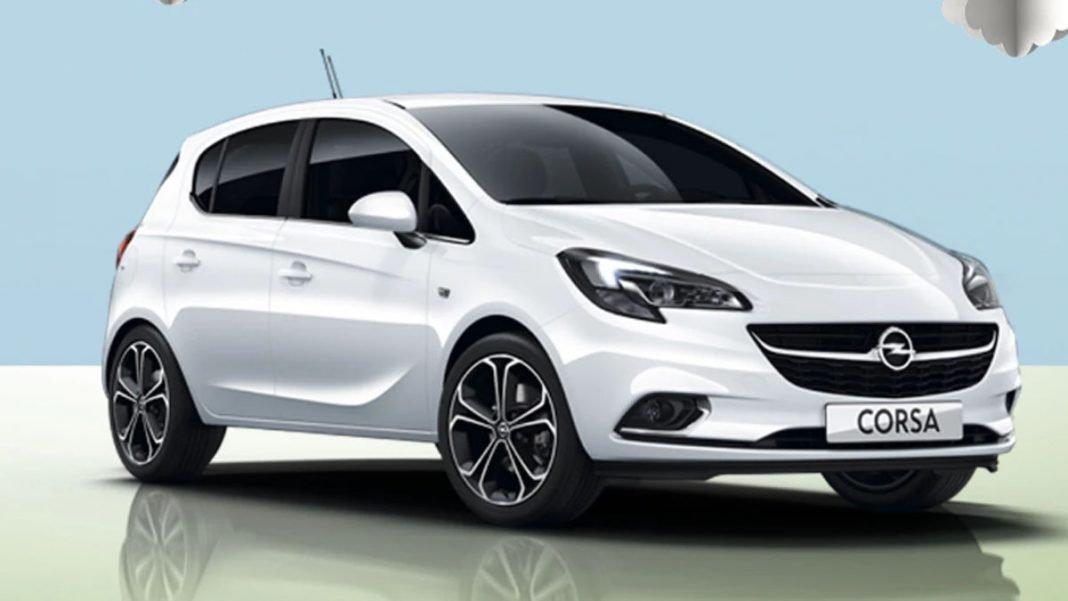 Opel Corsa GLP tres cuartos