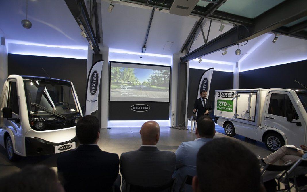 Presentación del Nextem Metro