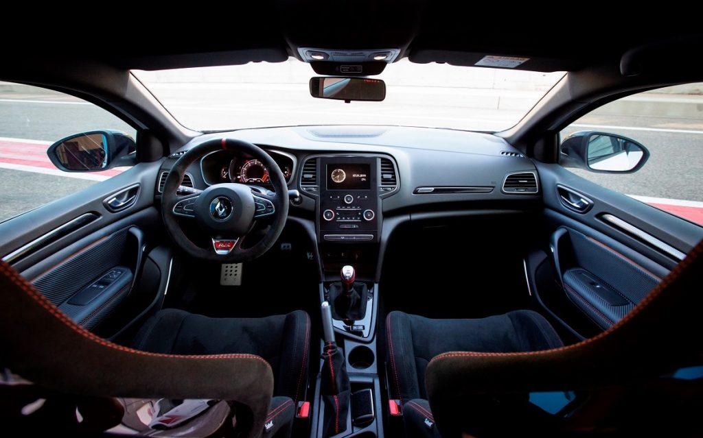 Imagen del interior del Renault Mégane Trophy RS