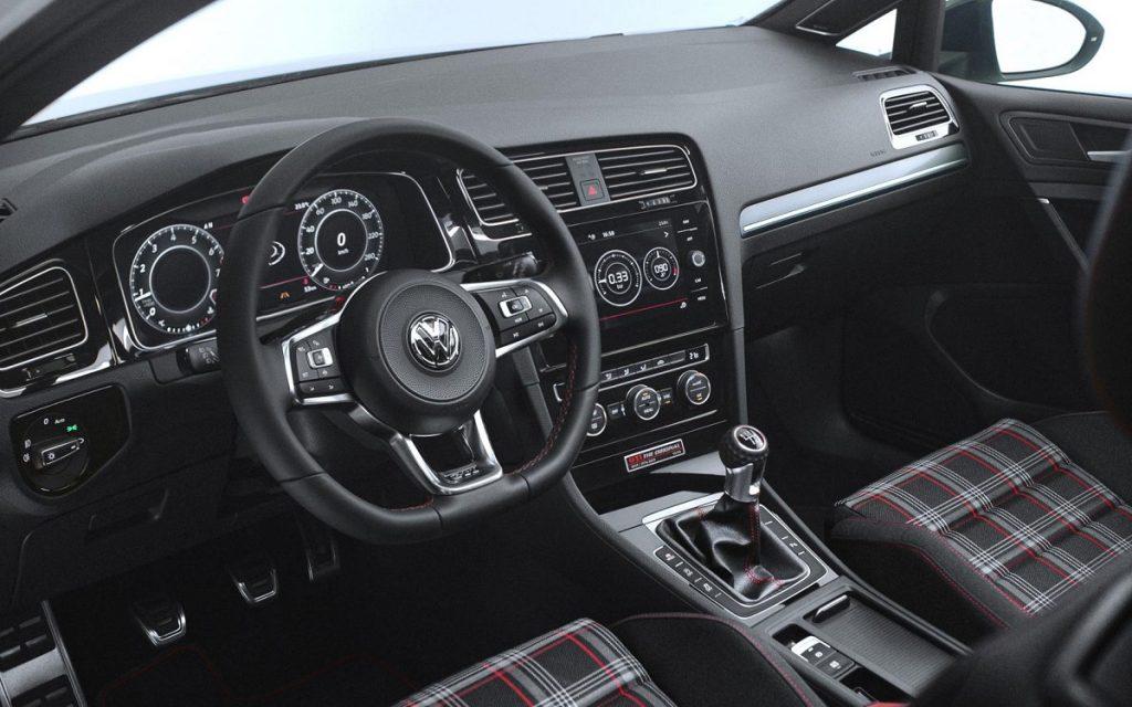 Interior del VW Golf GTI The Original