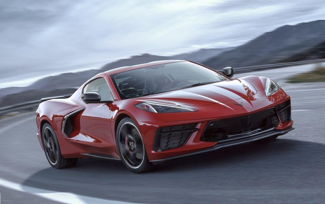 Imagen tres cuartos delantero del nuevo Chevrolet Corvette Stingray
