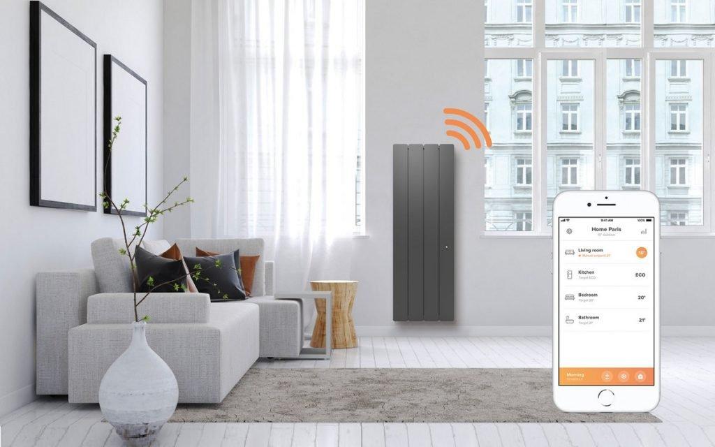 Imagen del interior de una casa que se puede controlar con el móvil