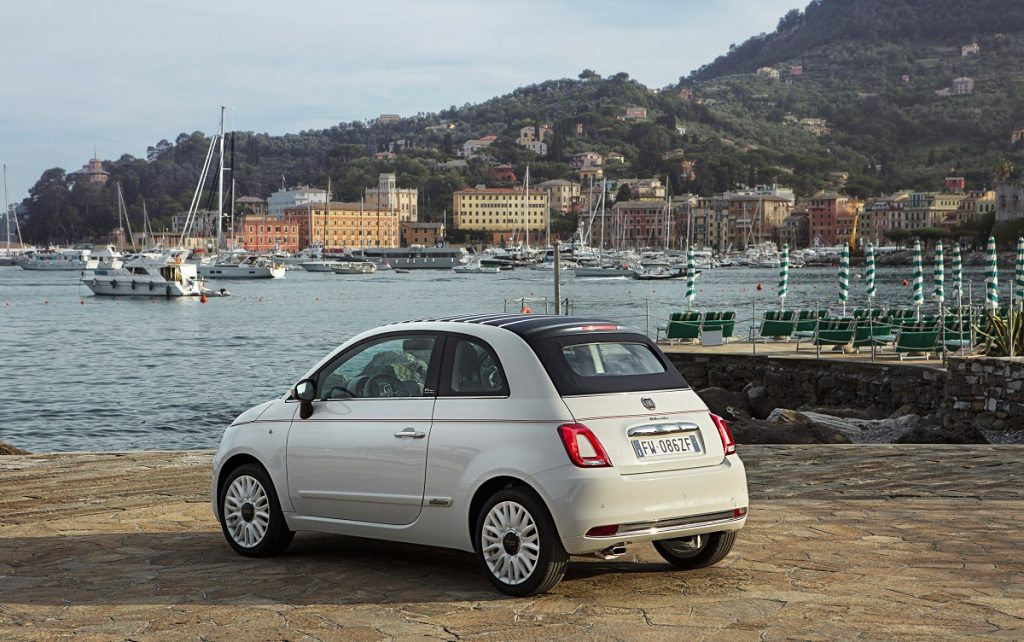 Imagen Imagen del nuevo Fiat 500 Dolcevita tres cuartos trasero