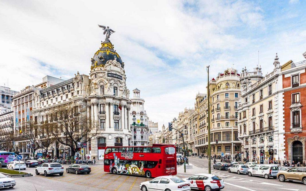 Imagen de la zona más céntrica de Madrid.